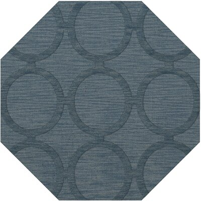 Dover Tufted Wool Sky Area Rug Rug Size: Octagon 6