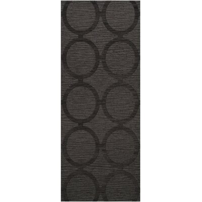 Dover Tufted Wool Ash Area Rug Rug Size: Runner 26 x 12