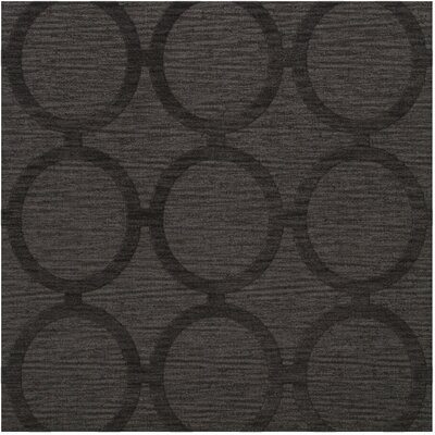Dover Tufted Wool Ash Area Rug Rug Size: Square 4