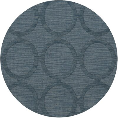 Dover Sky Area Rug Rug Size: Round 4