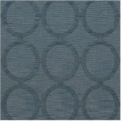 Dover Tufted Wool Sky Area Rug Rug Size: Square 4