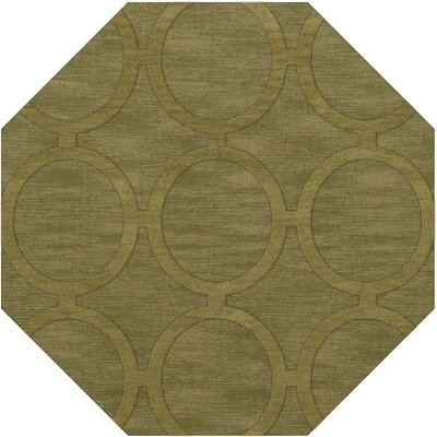 Dover Tufted Wool Pear Area Rug Rug Size: Octagon 12