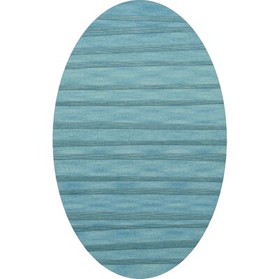Dover Peacock Area Rug Rug Size: Oval 5 x 8