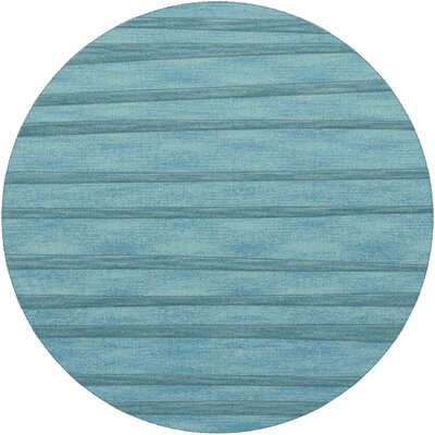Dover Peacock Area Rug Rug Size: Round 4