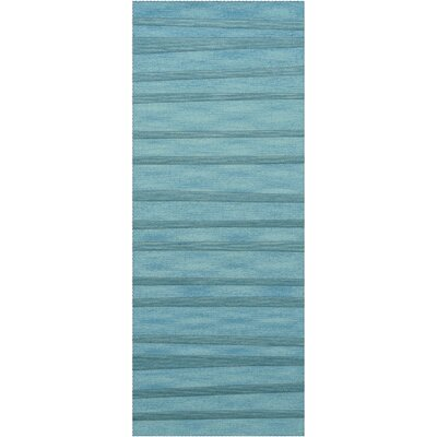 Dover Peacock Area Rug Rug Size: Runner 26 x 12