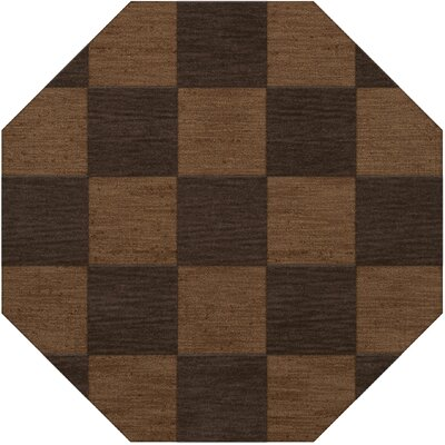 Dover Tufted Wool Caramel Area Rug Rug Size: Octagon 12