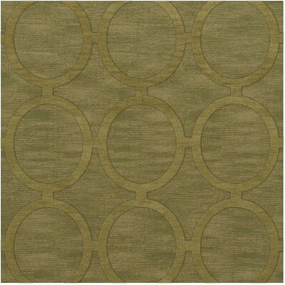 Dover Tufted Wool Pear Area Rug Rug Size: Square 4