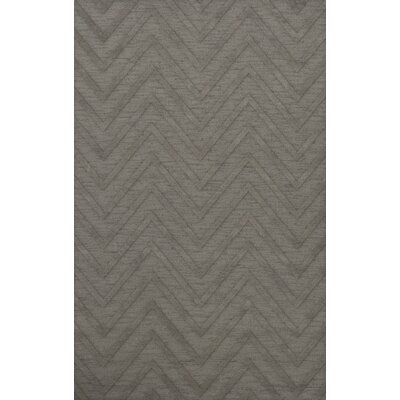 Dover Tufted Wool Silver Area Rug Rug Size: Rectangle 9 x 12