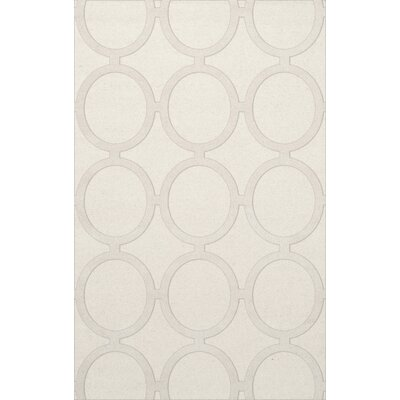 Dover Snow Area Rug Rug Size: Rectangle 4 x 6