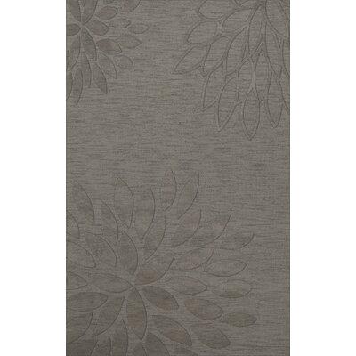 Bao Silver Area Rug Rug Size: 10 x 14