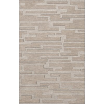 Dover Putty Area Rug Rug Size: 6' x 9'
