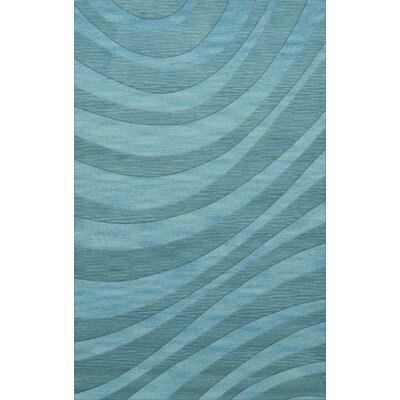 Dover Tufted Wool Peacock Area Rug Rug Size: Rectangle 6 x 9