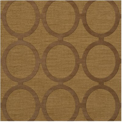 Dover Gold Dust Area Rug Rug Size: Square 12