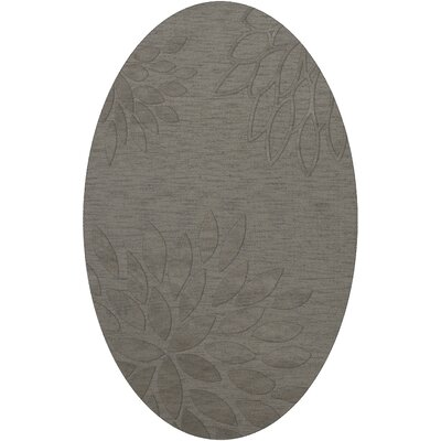 Bao Silver Area Rug Rug Size: Oval 10 x 14