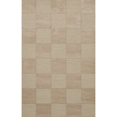 Dover Tufted Wool Linen Area Rug Rug Size: Rectangle 10 x 14