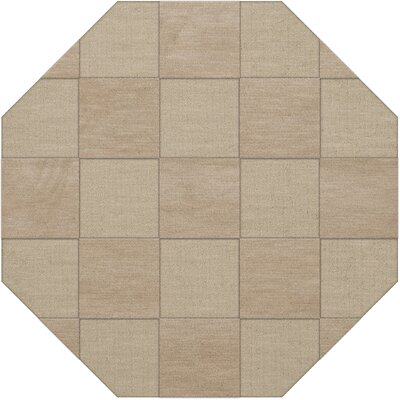 Dover Linen Area Rug Rug Size: Octagon 6