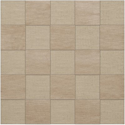 Dover Tufted Wool Linen Area Rug Rug Size: Square 12