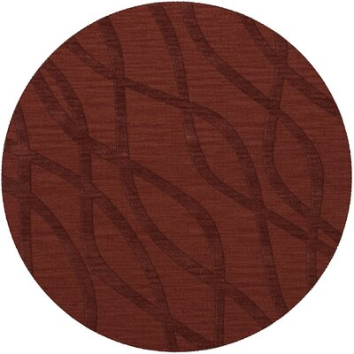 Dover Tufted Wool Canyon Area Rug Rug Size: Round 12