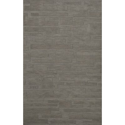 Dover Silver Area Rug Rug Size: Rectangle 4 x 6
