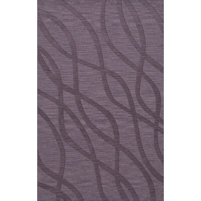Dover Tufted Wool Viola Area Rug Rug Size: Rectangle 8 x 10