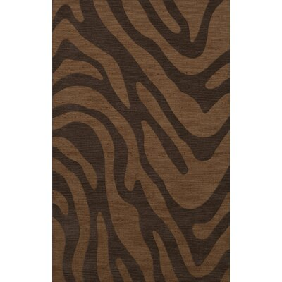 Dover Caramel Area Rug Rug Size: Rectangle 4 x 6