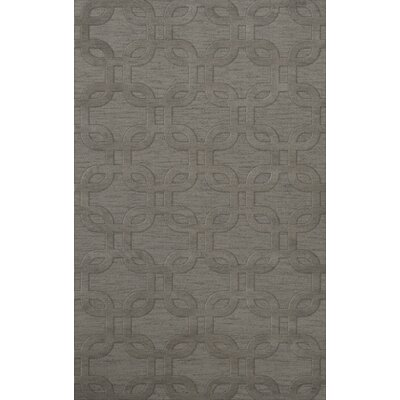 Dover Silver Area Rug Rug Size: Rectangle 3 x 5