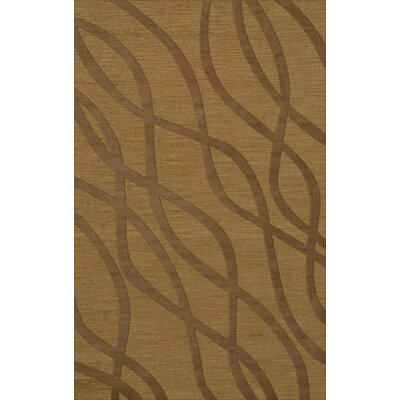 Dover Gold Dust Area Rug Rug Size: 9 x 12