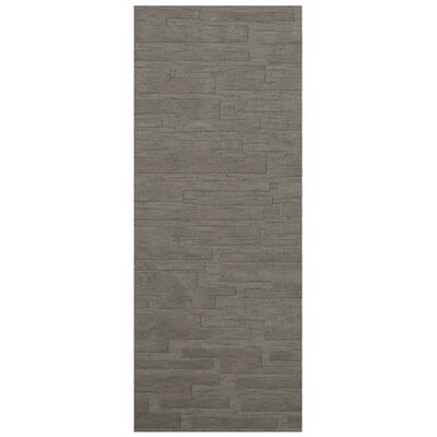 Dover Silver Area Rug Rug Size: Runner 26 x 12