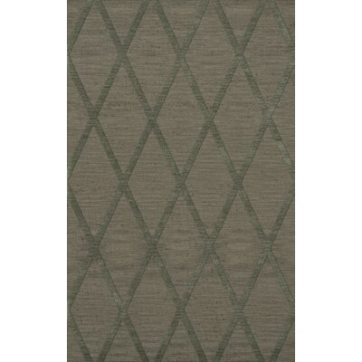 Dover Tufted Wool Aloe Area Rug Rug Size: Rectangle 12 x 18