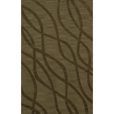 Dover Tufted Wool Leaf Area Rug Rug Size: Rectangle 6 x 9