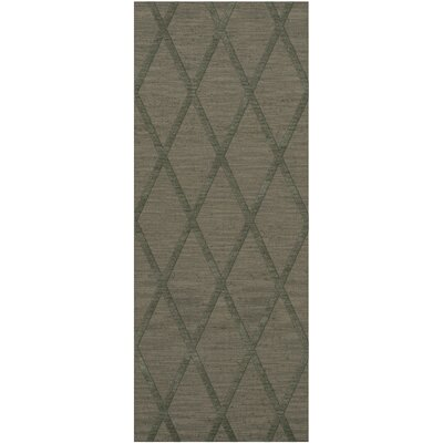 Dover Tufted Wool Aloe Area Rug Rug Size: Runner 26 x 8