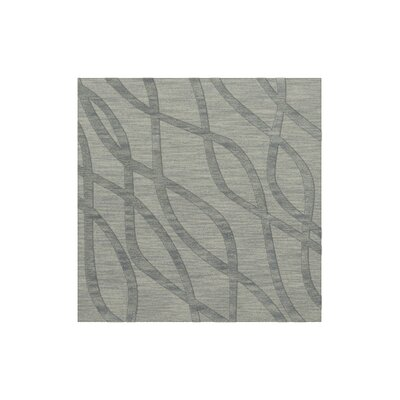 Dover Tufted Wool Sea Glass Area Rug Rug Size: Square 12
