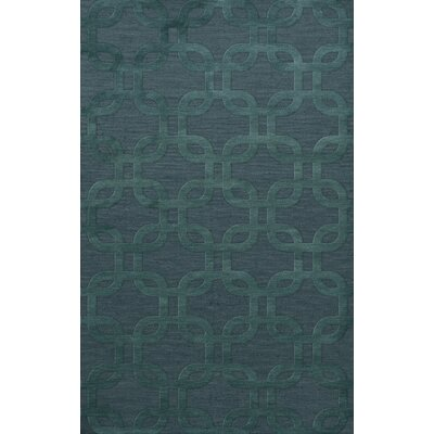 Dover Teal Area Rug Rug Size: Rectangle 6 x 9