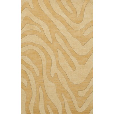 Dover Tufted Wool Lemon Ice Area Rug Rug Size: Rectangle 4 x 6