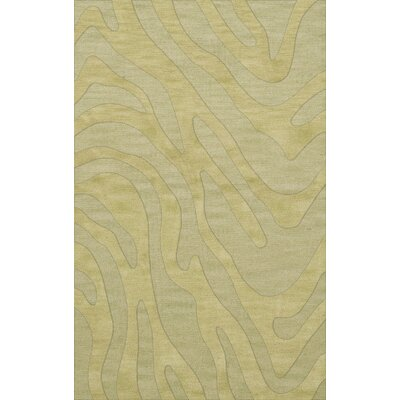 Dover Tufted Wool Mint Area Rug Rug Size: Rectangle 6 x 9