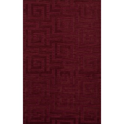Dover Rich Red Area Rug Rug Size: 10 x 14