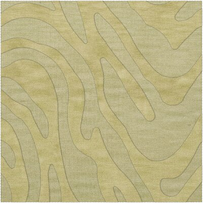 Dover Tufted Wool Mint Area Rug Rug Size: Square 12'