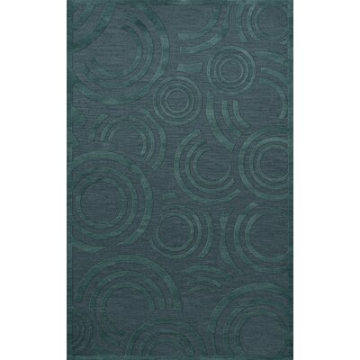 Dover Tufted Wool Teal Area Rug Rug Size: Rectangle 10 x 14