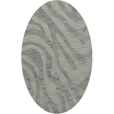 Dover Sea Glass Area Rug Rug Size: Oval 6' x 9'
