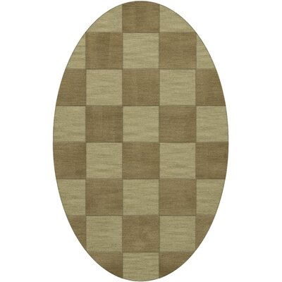 Dover Tufted Wool Marsh Area Rug Rug Size: Oval 6 x 9