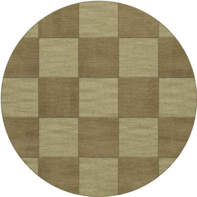 Dover Tufted Wool Marsh Area Rug Rug Size: Round 10'