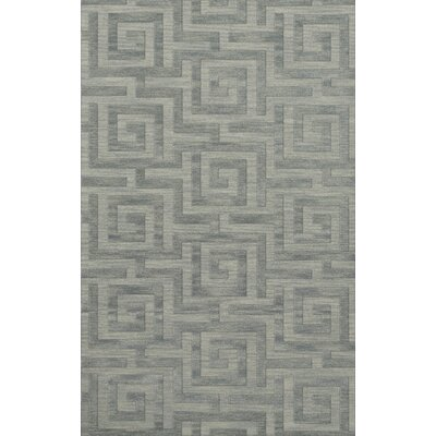 Dover Tufted Wool Sea Glass Area Rug Rug Size: Rectangle 12 x 18