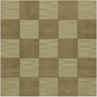 Dover Tufted Wool Marsh Area Rug Rug Size: Square 10