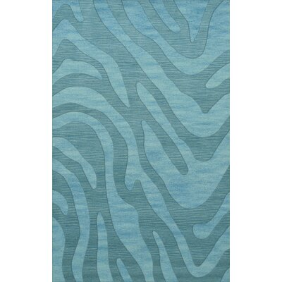 Dover Tufted Wool Peacock Area Rug Rug Size: Rectangle 5 x 8