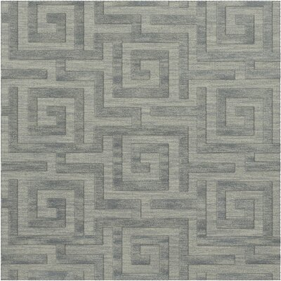 Dover Tufted Wool Sea Glass Area Rug Rug Size: Square 6