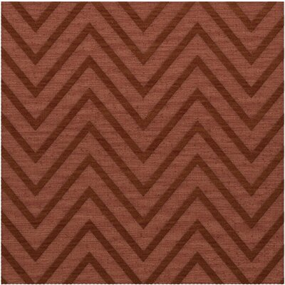 Dover Tufted Wool Coral Area Rug Rug Size: Square 6