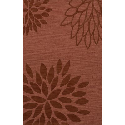 Bao Coral Area Rug Rug Size: Rectangle 3 x 5