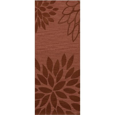 Bao Coral Area Rug Rug Size: Runner 26 x 8