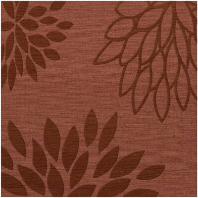 Bao Coral Area Rug Rug Size: Square 12