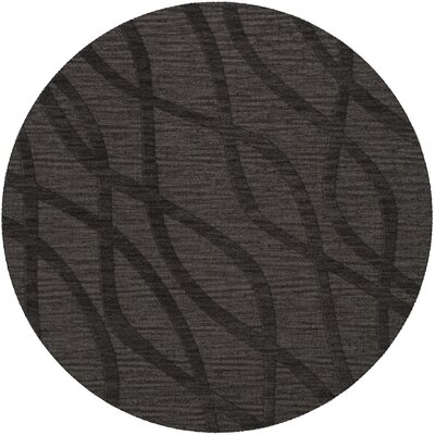 Dover Ash Area Rug Rug Size: Round 4